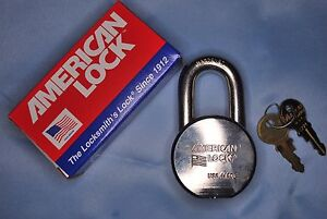 American Lock H10 Round Body Padlock 7 16 Shackle