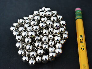 250 Strong Magnets Spheres Balls 6mm 1 4 Neodymium Us Seller