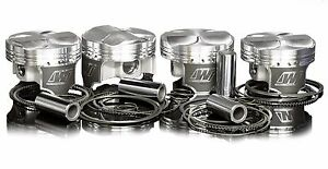 Wiseco 92 5mm 7 3 1 Pistons For 1983 89 Mitsubishi Starion G54b