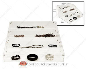 Jewelry Make up Organizer Acrylic Organizer Display Showcase Countertop Display