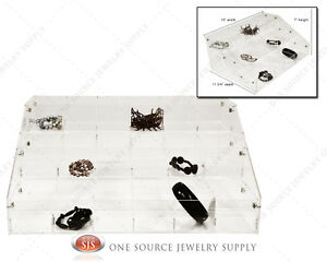 Make up Organizer Acrylic Jewelry Organizer Display Showcase Countertop Display