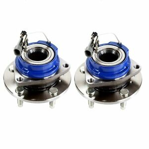 Pair Front Wheel Hub Bearing For 1997 1998 1999 Oldsmobile Silhouette All Types
