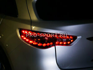 Infiniti Fx35 Fx37 Fx50 Qx70 Led Tail Lights 2008 2009 2010 2011 2012 2016 2ps