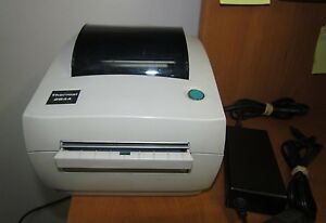 Zebra Lp 2844 Thermal Label Lp2844 Printer Ups Fedex Parallel Usb