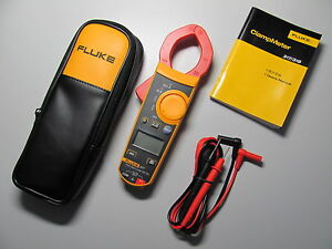 Fluke F317 Digital Clamp Meter Volt Amp Rel True Rms W Orginal Case Usa Seller