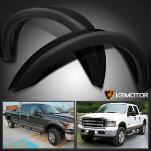 99 07 Ford F250 F350 Super Duty Factory Style Wheel Cover Fender Flares 4pc