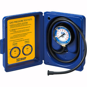 Yellow Jacket Gas Pressure Complete Test Kit 0 10 W c 78055