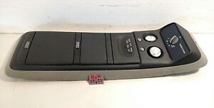 95 99 Chevy Tahoe Yukon Interior Overhead Dome Light Lamp Rear Ac Control Oem