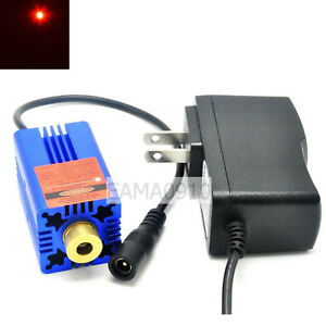 650nm 250mw Red Laser Diode Stage Lighting Module Mitsubishi Diode W 5v Adapter