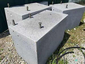 Granite Inspection Surface Plate Block Approx 40 X 30 X 36 Inch