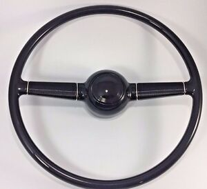 1940 40 Ford Deluxe 15 Steering Wheel Gm Steering Column W Smooth Horn Button