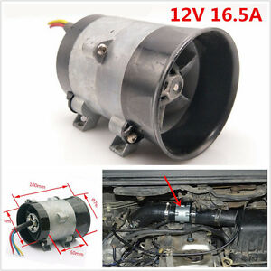 Dc12v 16 5a 300w Car Three phase Electric Turbine Turbo Fan Turbo Charger Boost