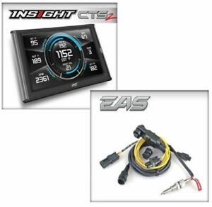 Edge Products Insight Cts2 Touch Screen Monitor Eas Egt Kit For Obd Ii Ports
