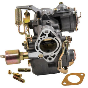 34 Pict 3 Carburetor 12v Electric Chhoke Fit 1967 1970 Vw Squareback 113129031k