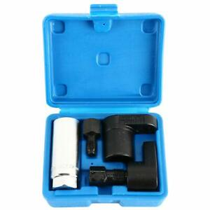 Oxygen Sensor Socket O2 Thread Chaser Install Offset Wrench Tools Vacuum M12 M18
