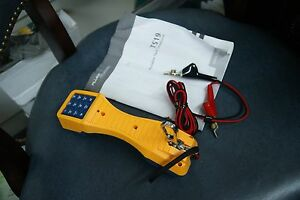 Fluke Ts 19 Networks Ts 19 Test Set With Manual