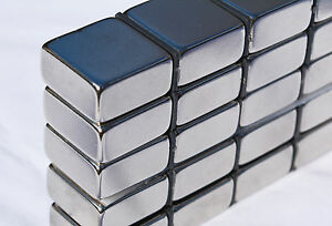 10 Piece 10mm X 20mm X 20mm Square Magnets N45 Grade Neodymium Us Seller