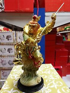 11 H Chinese Lucky Animal King Monkey Statues