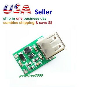 Dc 3v To 5v Usb Output Charger Step Up Power Module Dc dc Boost Converter