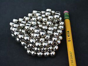 500 Strong Magnets Spheres Balls 7mm 9 32 Neodymium Us Seller