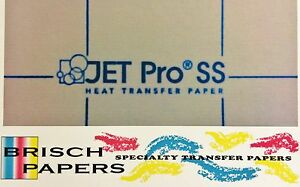 Inkjet Transfer For White Fabric Iron on jet Pro Soft Stretch a3 Size 250ct