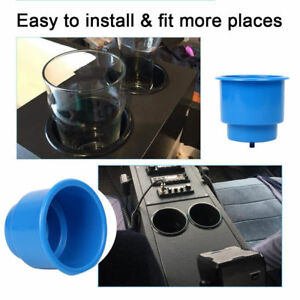 50 Pcs Boat Marine Recessed Drop In Plastic Cup Drink Can Holder Blue bm