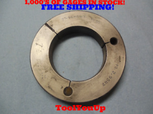 3 16 N 3 Thread Ring Gage 3 00 No Go Only P d 2 9547 Tool Inspection Tooling