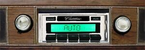 1969 1970 Cadillac Deville Am Fm Stereo Radio Usa 230 200 Watts Mp3 Aux Input _