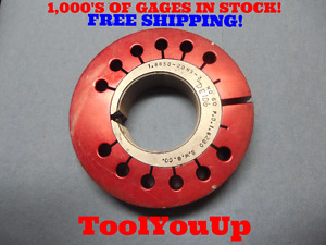1 6650 20 Ns 3 Thread Ring Gage No Go Only P d 1 6280 Tooling Inspection