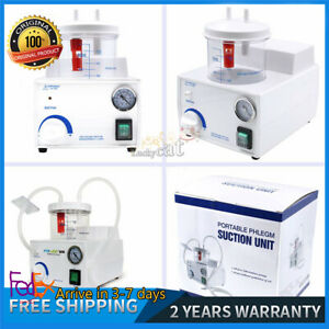 Fda Ce Dental Electric Portable Medical Emergency Vacuum Phlegm Suction Unit