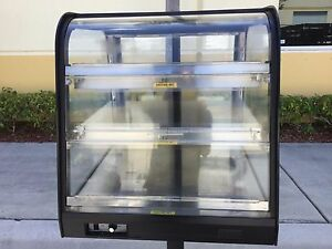 Federal Ch2428ss 24 Self service Countertop Heated Display Case W Curved Glass