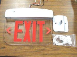 New Emergency Exit Sign Emergency Lighting Power Equipment Plelrxteu1rcaem