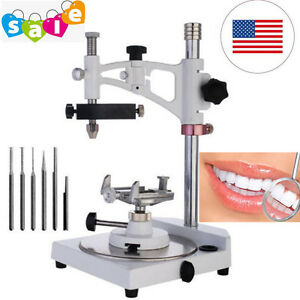 2017 Dental Lab Parallel Surveyor Equipment With Tools Handpiece Holder Fda New
