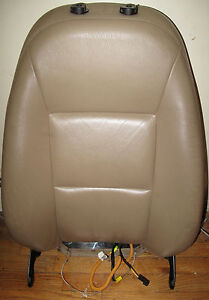2003 Saab 9 5 Tan Leather Right Passenger Front Seat Back