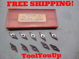 10pcs New Max Pro Tools Vngp 33 007 Pvd 2000 Inserts Cnc Tooling Machine Shop