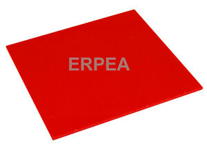 New Red Acrylic Plexiglass 1 8 X 8 25 X 11 5 Plastic Sheet