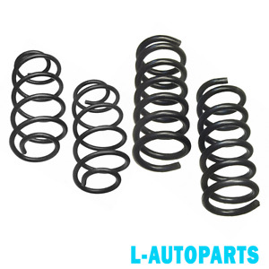 Front Rear Lowering Springs For 2 4l L4 2011 2012 Chevrolet Equinox Gmc