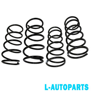 Front Rear Lowering Springs For 2 5l H4 2001 2002 Subaru Forester