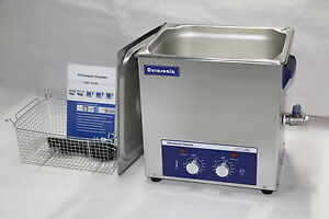 Durasonix 10l Ultrasonic Cleaner With Timer Heater Stainless Built Industrial