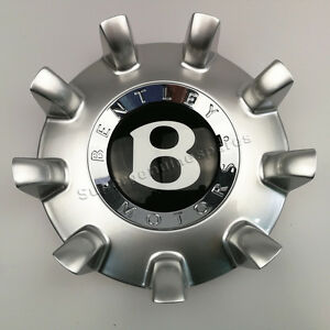 Genuine Bentley Continental Gt19 Mulliner Modular Wheel Hub Cap Brand New 1pc