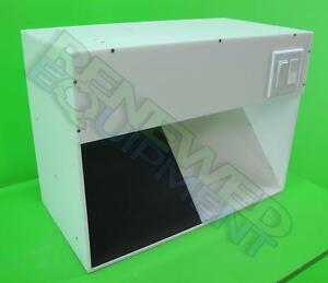 Plastic Craft Tabletop Inspection Light Booth 2