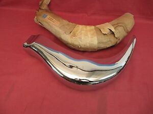 Nos Mercedes Benz 300sl Gullwing 1954 1957 Left Front Bumper W198