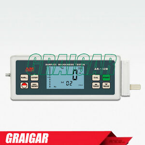 Ar 132b Surface Roughness Tester Gauge Meter With Probe For Ra Rz Rq Rt