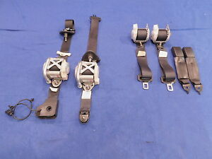 05 Ford Mustang 2005 Seatbelt Front Rear Left Right Seatbelt Set Retractable 12
