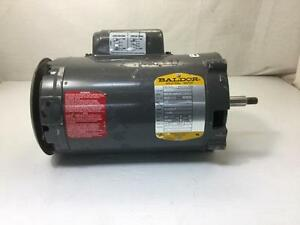12429 Baldor Electric Motor Jl1303a 1 2hp 115 230v 3450 R p m Single Phase