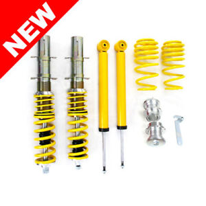 Rsk Street Coilover Kit Vw Mk4 Golf Gti Jetta New Beetle Yellow
