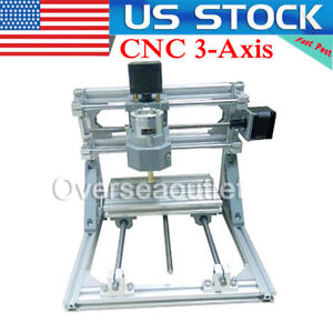 Us mini Cnc 3 axis Engraver Milling Wood Pcb Pvc Carving Diy Engraving Machine