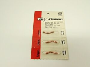Ungar 332 1 8 Tiplets Copper Alloy Soldering Tips