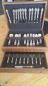 Gorham Melrose Silver 12 Settings Of 6 Pieces Each Never Used