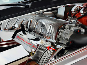 Challenger charger magnum 300 Srt 8 Fuel Rail Covers Perforated challenger